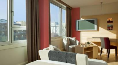 Accommodation Le Meridien Vienna